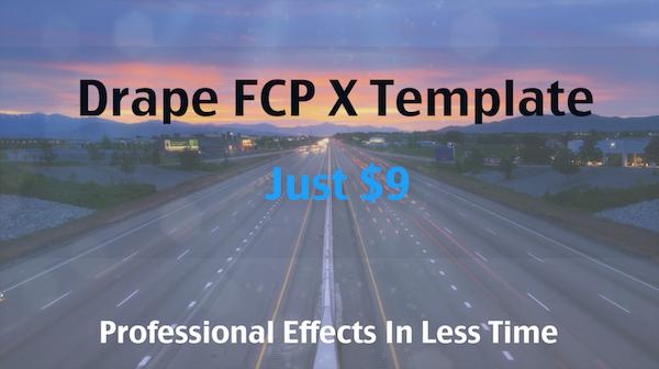 Drape FCP X Template